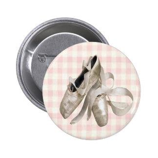 Ballerina Shoes Pinback Button