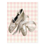 Ballerina Shoes Post Card