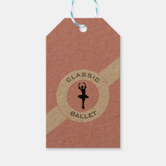 Ballerina Silhouette Gift Tags