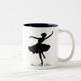 """Ballerina Silhouette"" Mug"