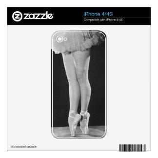 Ballerina Skin For iPhone 4S