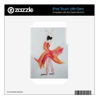 Ballerina Skins For iPod Touch 4G