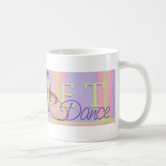 Ballerina Slippes Classic White Coffee Mug