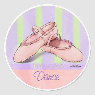 Ballerina Slippes Stickers