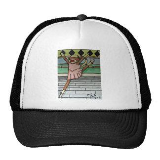 Ballerina Sock Monkey Trucker Hat