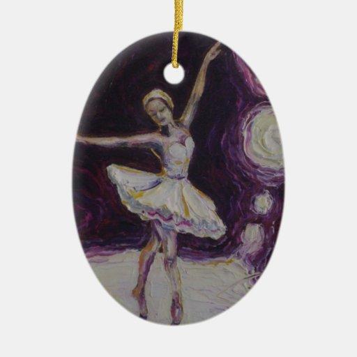 Ballerina Study Ornament