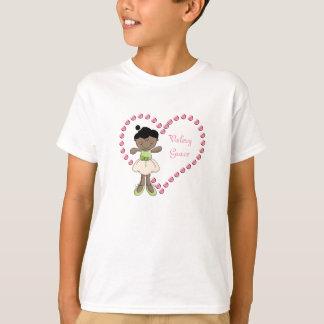 Ballerina Sweetheart Kids T-Shirts