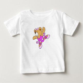 Ballerina Teddy Bear Baby T-Shirt