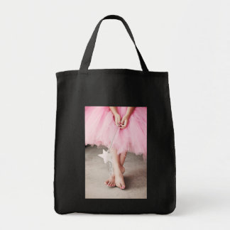 Ballerina Toes Grocery Tote Bag