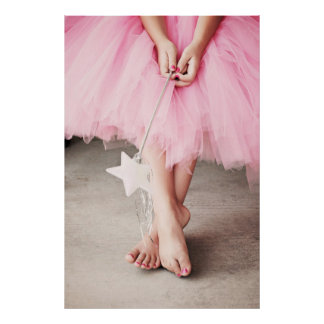 Ballerina Toes Print
