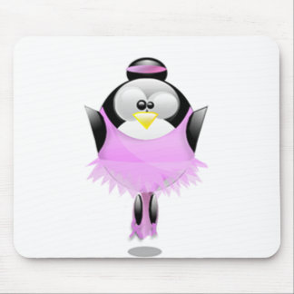 Ballerina Tux Mouse Pad