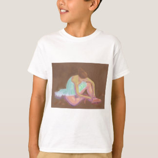 Ballerina Tying her Shoes, T-shirt / Shirt