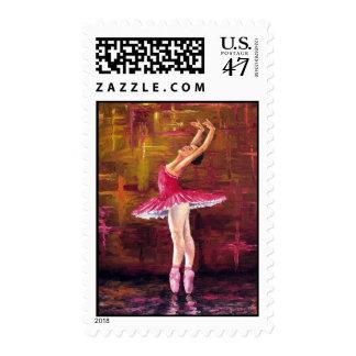 """Ballerina"" U.S. Postage Stamps"