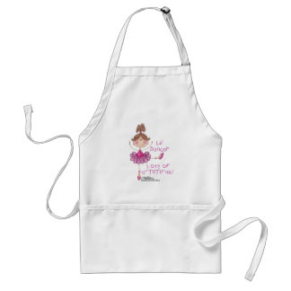 Ballerina with ATUTUde Adult Apron