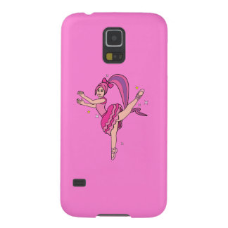 Ballerina with Bow Galaxy S5 Case