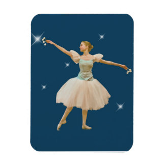 Ballerina with Castanets Magnet