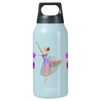 Ballerina with Orchid Insulated Water Bottle