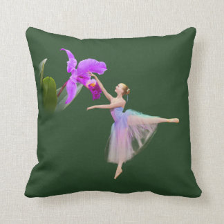 Ballerina with Orchid Pillows