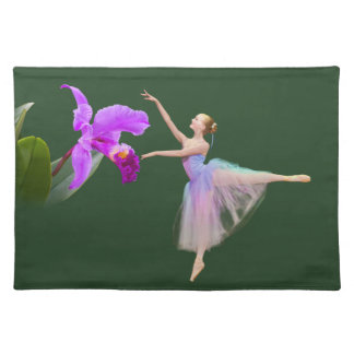 Ballerina with Orchid Placemat