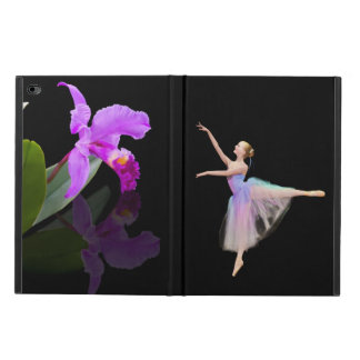 Ballerina with Purple Orchid Powis iPad Air 2 Case