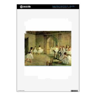 Ballerinas by Edgar Degas Skin For iPad 3