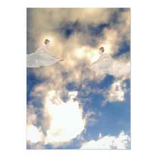 Ballerinas CricketDiane Art and Design 5.5x7.5 Paper Invitation Card
