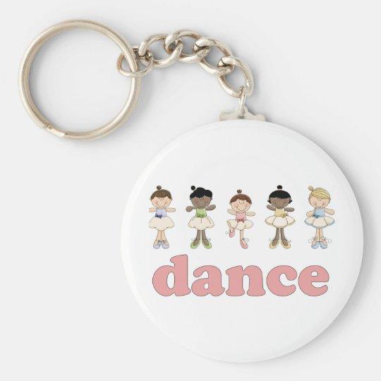 Ballerinas Dance Keychain
