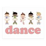 Ballerinas Dance Postcard