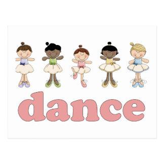 Ballerinas Dance Postcards