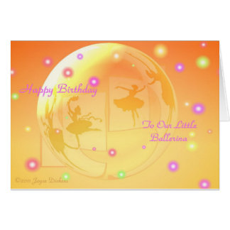 Ballerinas In A Bubble HB Daughter Card
