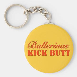 Ballerinas Kick Butt Keychain
