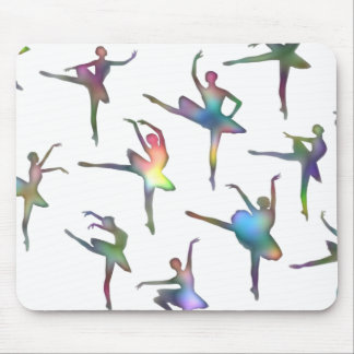 Ballerinas Mouse Pad