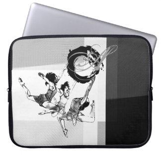 Ballerinas Plate Laptop sleeve
