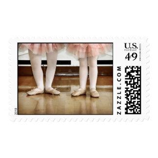 Ballerinas Postage Stamp