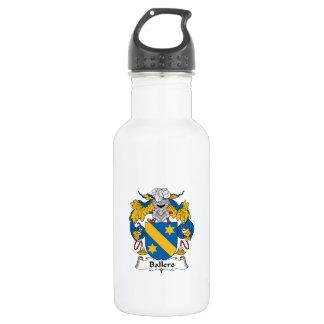 Ballero Family Crest 18oz Water Bottle