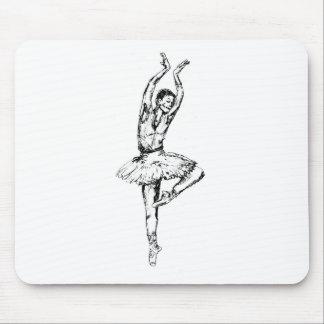 ballet3 mouse pad
