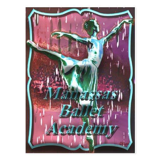 Ballet 017 postcard