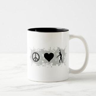 Ballet 1 Two-Tone coffee mug