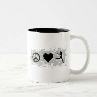 Ballet 4 Two-Tone coffee mug