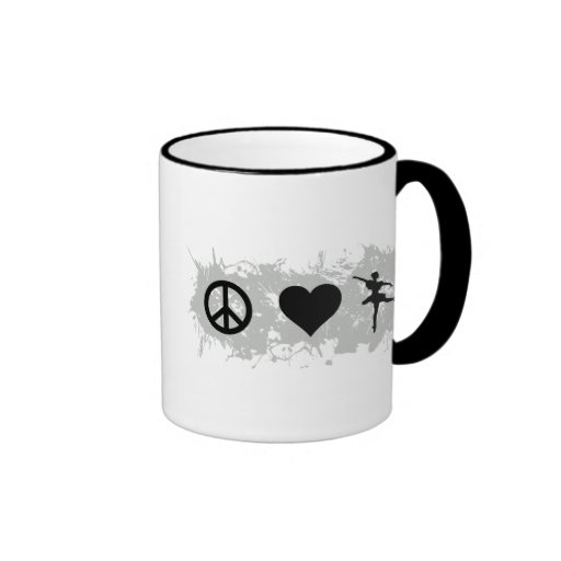 Ballet 5 mugs