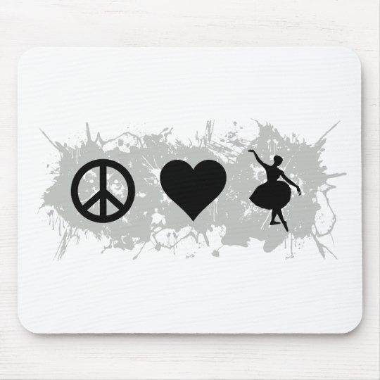 Ballet 6 mouse pad
