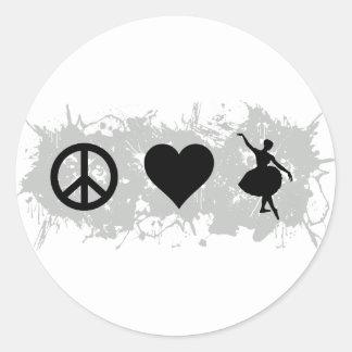 Ballet 6 stickers