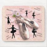 Ballet Alfombrilla De Ratón