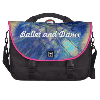 Ballet and Dance Abstract design Commuter Bag