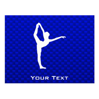 Ballet azul tarjetas postales