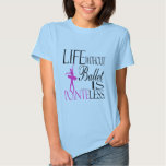 Ballet Baby Doll T-shirt - Pointless