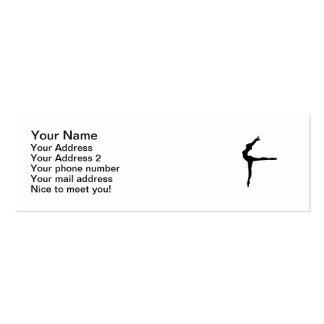 Ballet Ballerina Business Card Templates