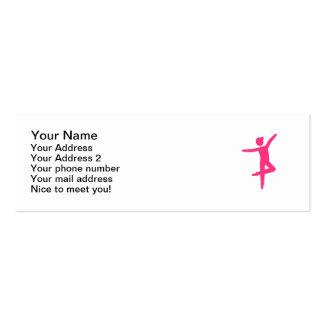 Ballet Ballerina dancer Business Card Templates