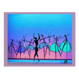 Ballet Beauty Postcard