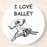 ballet beverage coaster